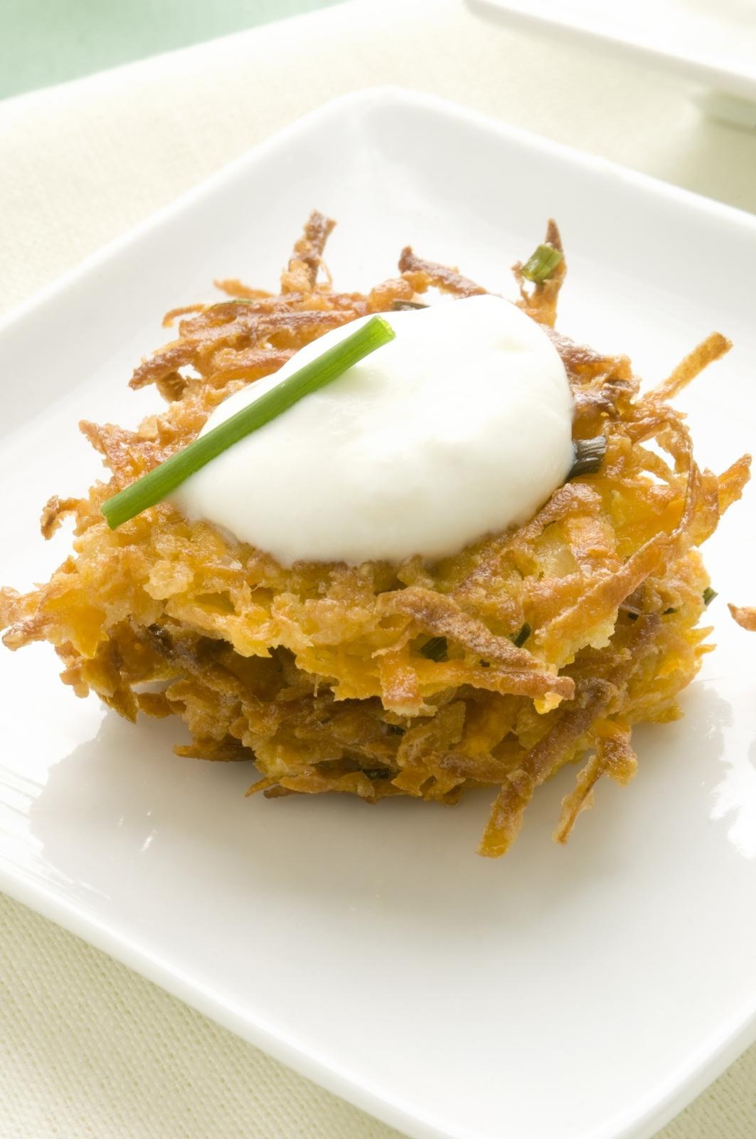 Cajun Sweet Potato Fritters + Apple Cider Margarita